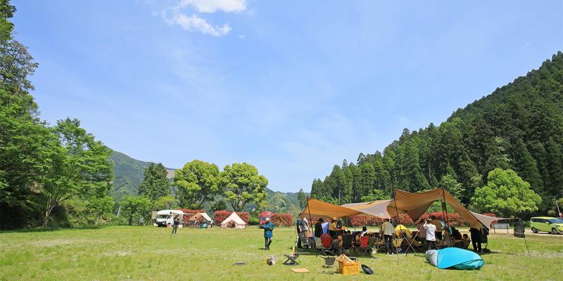 【広報協力】東峰村『岩屋キャンプ場』リニューアルオープン!(7月1日12時〜受付開始!)の写真です