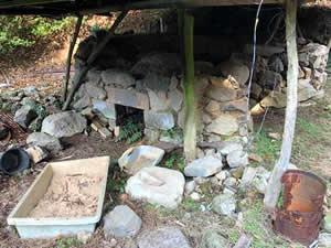 豪雨で壊れた炭焼き窯を作り直そう!&ライトアップされた夜の棚田の風景を楽しもう!~東峰村災害復興支援『棚田ん米』づくりプロジェクト(冬・炭焼き編)  ~の写真です