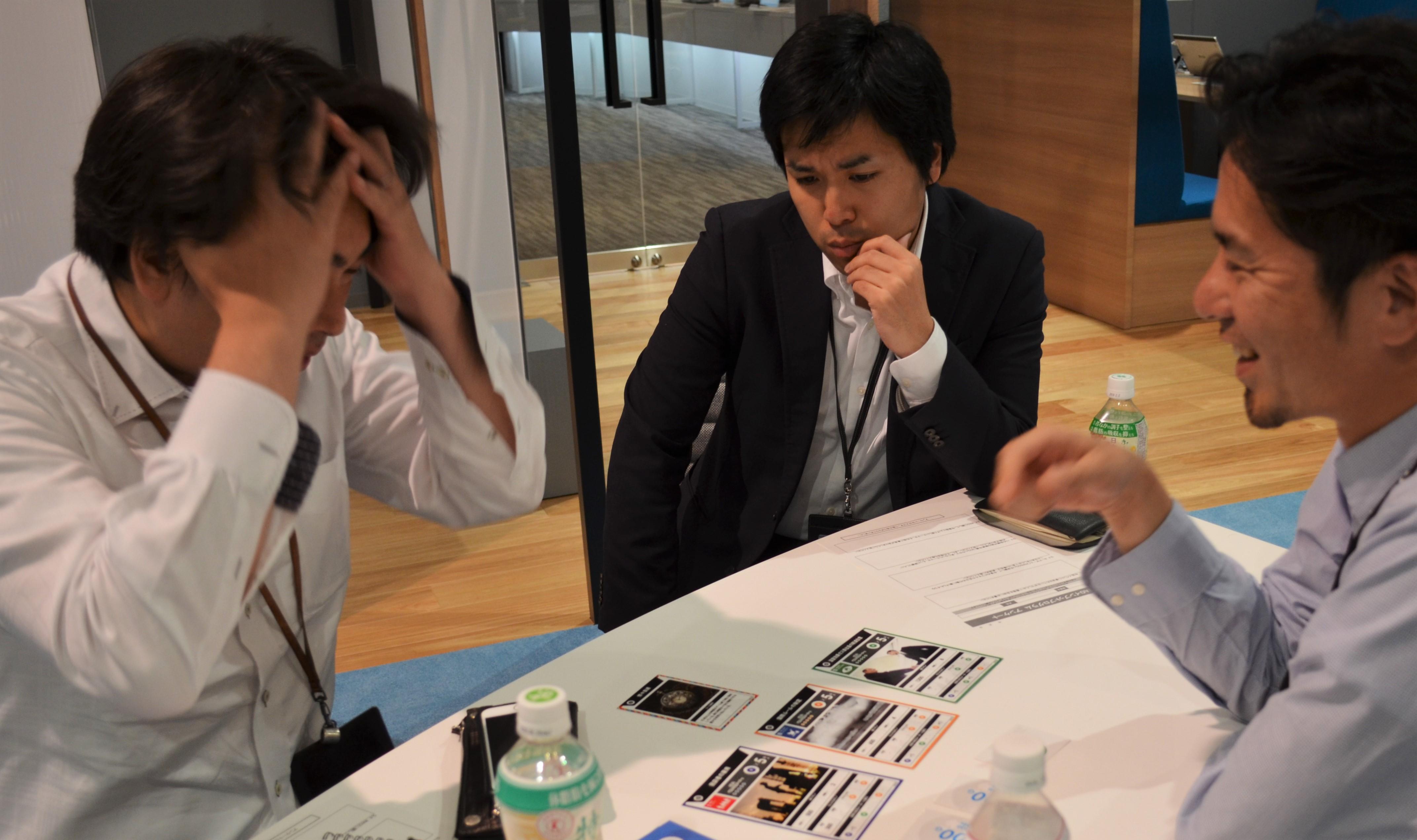 """遠賀町起業支援ワークショップ『カードゲームで学ぶSDGs』の写真です"""""""